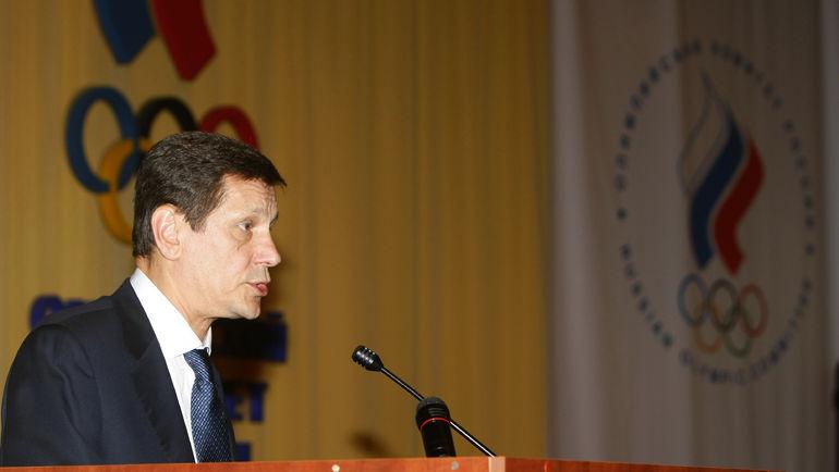 20 мая 2010 года. Москва. Александр ЖУКОВ - новый президент ОКР. Фото Алексей ИВАНОВ