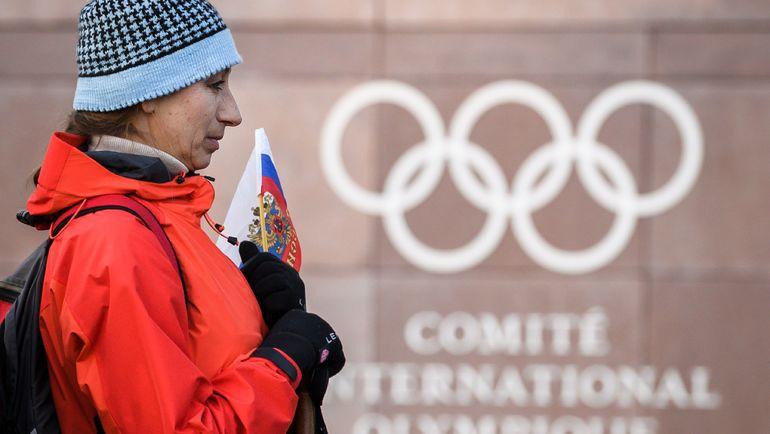 МОК vs Россия: ответный удар. Фото AFP