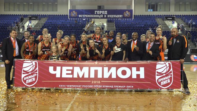 """""""Лисицы"""" триумфально завершили сезон"""