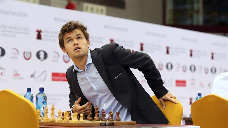 Норвежский гроссмейстер Магнус КАРЛСЕН. Фото AFP