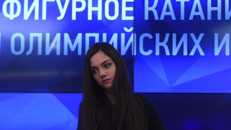 """Евгения МЕДВЕДЕВА. Фото Александр ФЕДОРОВ, """"СЭ"""""""