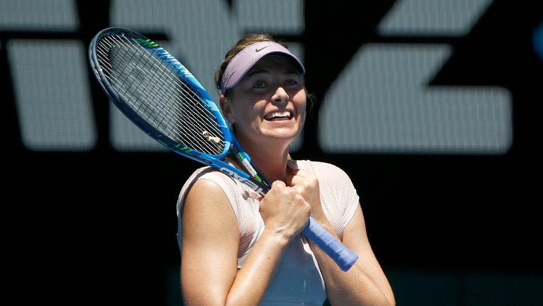 Мария Шарапова одержала первую победу ссамого начала года