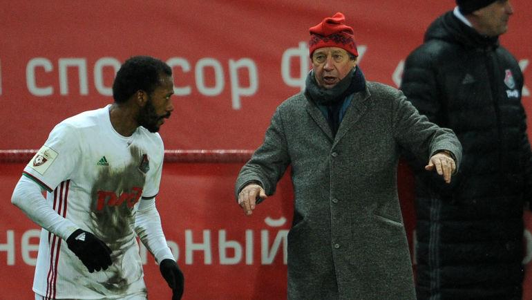 "Юрий СЕМИН (справа) и МАНУЭЛ ФЕРНАНДЕШ. Фото Алексей ИВАНОВ, ""СЭ"""