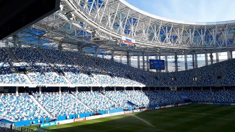 """Стадион Нижнего Новгорода. Фото Юрий ГОЛЫШАК, """"СЭ"""""""