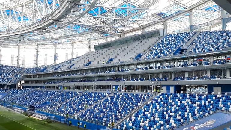 """Стадион """"Нижний Новгород"""". Фото Юрий ГОЛЫШАК, """"СЭ"""""""