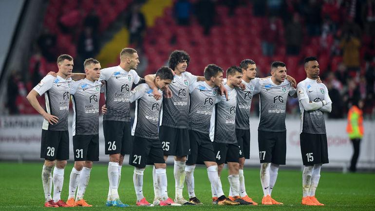ФК «Уфа» желает  играть вЛиге Европы вместо «Тосно»