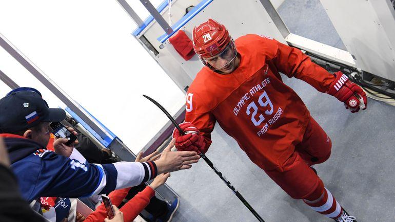 Февраль. Пхенчхан. Илья КАБЛУКОВ на Олимпийских играх. Фото AFP