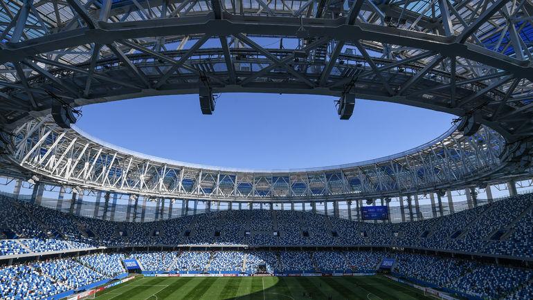 """Стадион в Нижнем Новгороде. Фото Дарья ИСАЕВА, """"СЭ"""""""