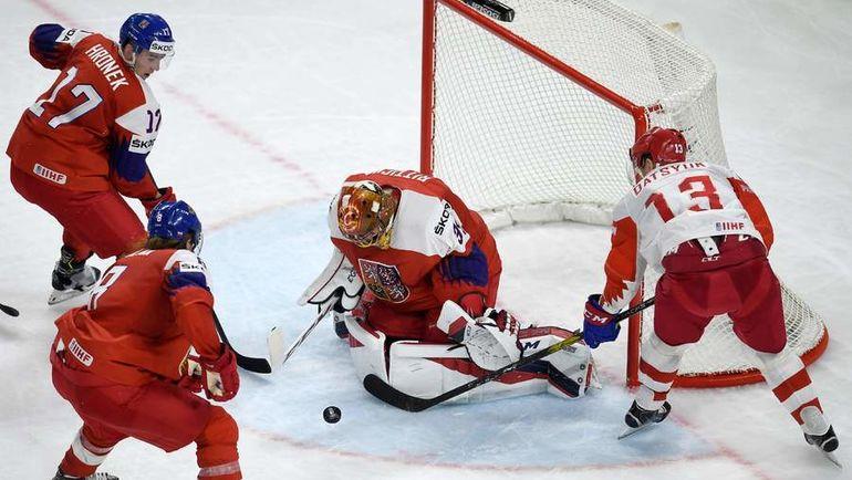Россия уступила в овертайме Чехии на ЧМ по хоккею (Видео)