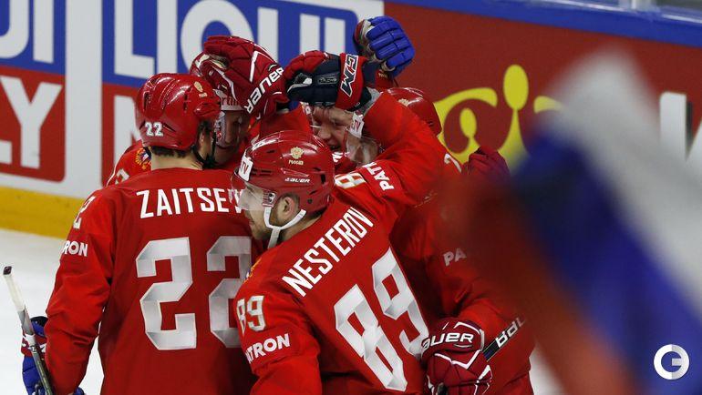 14 мая. Копенгаген. Россия - Словакия - 4:0. Победа!