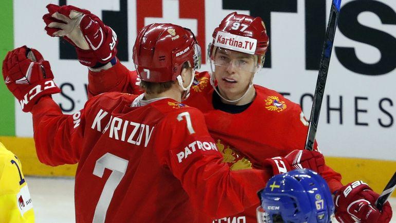 Кирилл КАПРИЗОВ (слева) и Никита ГУСЕВ. Фото REUTERS