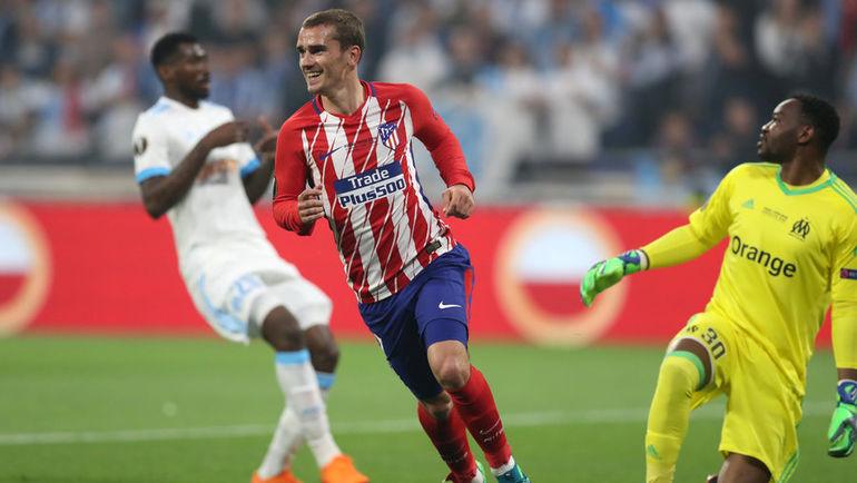 «Атлетико» разгромил «Марсель» в финале Лиги Европы (Видео)