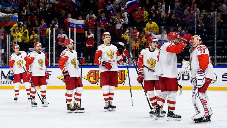 На ЧМ-2018 Игорь ШЕСТЕРКИН вышел на замену в игре с Австрией (7:0) и провел два полноценных сухих матча против Белоруссии (6:0) и Словакии (4:0). Фото AFP