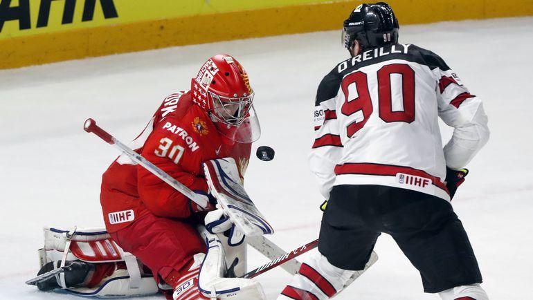 Сборная России уступила Канаде в 1/4 финала чемпионата мира. Фото REUTERS