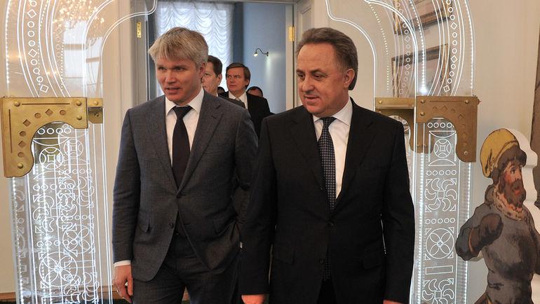 Виталий МУТКО (справа) и Павел КОЛОБКОВ. Фото Алексей ИВАНОВ