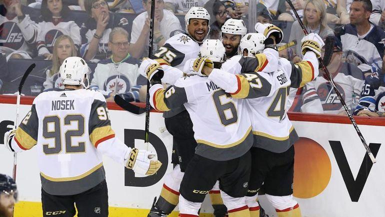"""""""Вегас"""" - в финале Кубка Стэнли. Фото Пресс-служба НХЛ"""