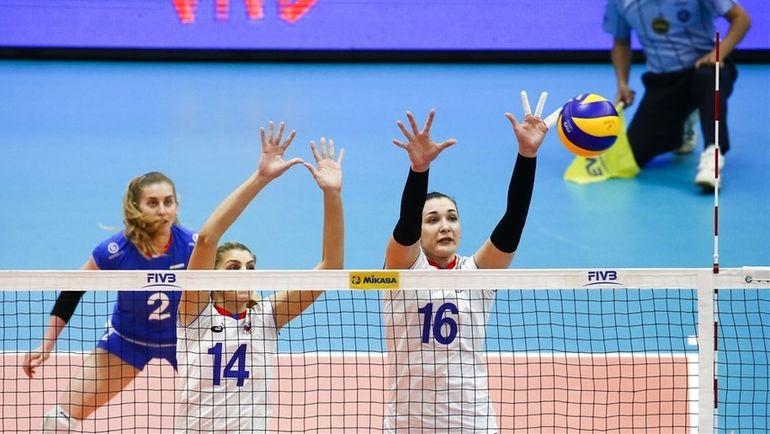 Россия - Италия - 3:0. Фото fivb.com