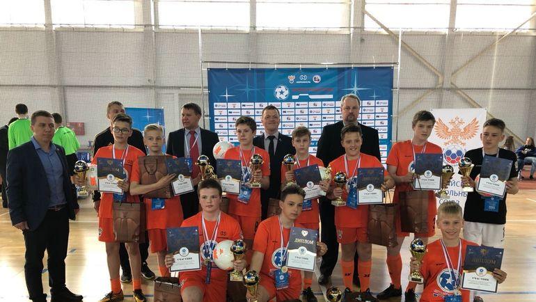 Футбольный турнир в Мурманске.