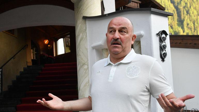 Станислав Черчесов: После объявления заявки мне позвонил Глушаков
