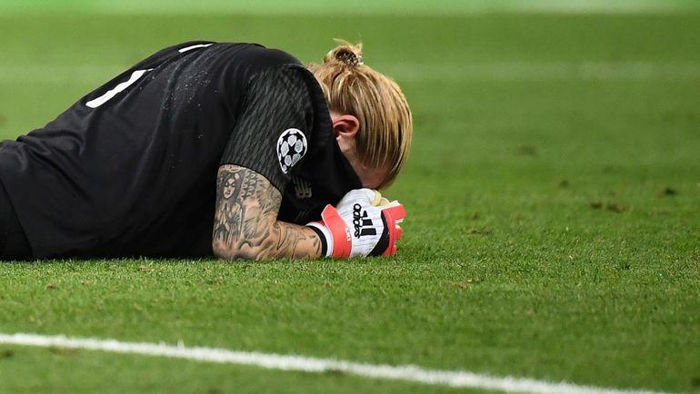 """Суббота. Киев. """"Реал"""" - """"Ливерпуль"""" - 3:1. Эмоции Лориса КАРИУСА. Фото AFP"""