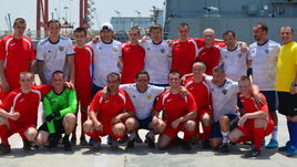 Юран и Павлюченко сыграли в футбол в Сирии. Как это было