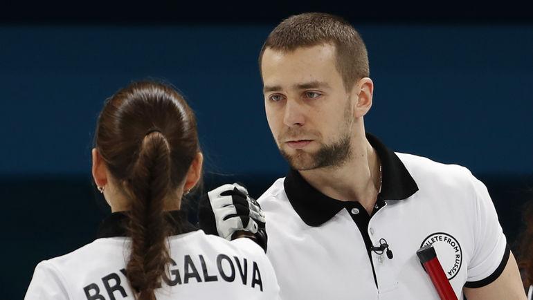 Анастасия БРЫЗГАЛОВА и Александр КРУШЕЛЬНИЦКИЙ. Фото AFP