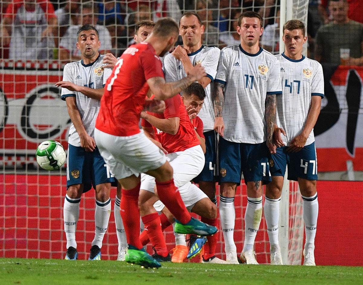 Самедов и Зобнин сыграли с австрийцами