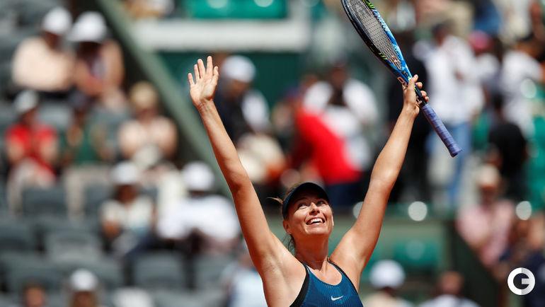 2 июня. Париж. Roland Garros. Мария ШАРАПОВА.