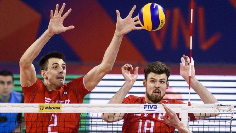 Сборная России по волейболу. Фото fivb.org