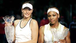 Как изменились Мария Шарапова и Серена Уильямс за 14 лет?