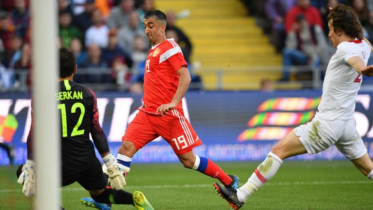 Россия сыграла вничью с Турцией в контрольном матче (Видео)