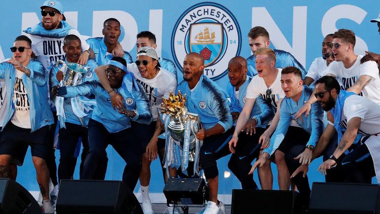 """Чемпион Англии """"Манчестер Сити"""" делегировал в сборные - участницы чемпионата мира больше игроков, чем любой друг клуб. Фото REUTERS"""