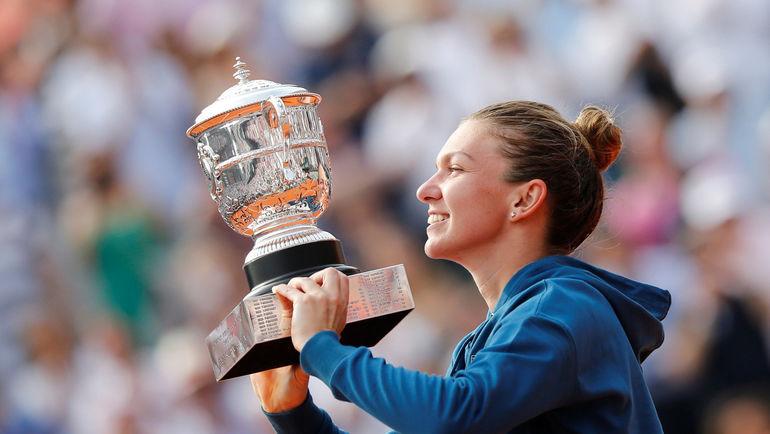 Суббота. Париж. Симна ХАЛЕП - победительница Roland Garros-2018. Фото REUTERS