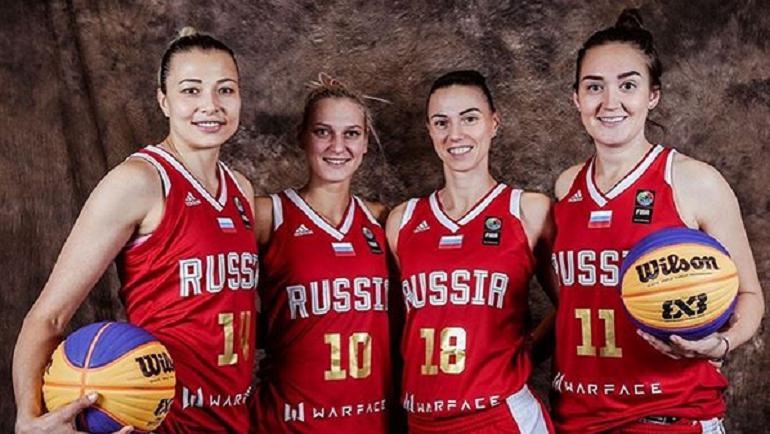 Сборная России по стритболу. Фото instagram.com/