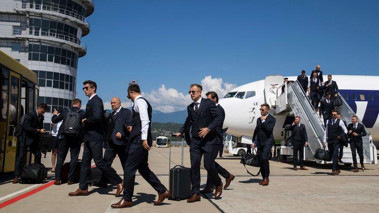 Сборная Польши прибыла в Сочи, где будет базироваться во время чемпионата мира. Фото AFP