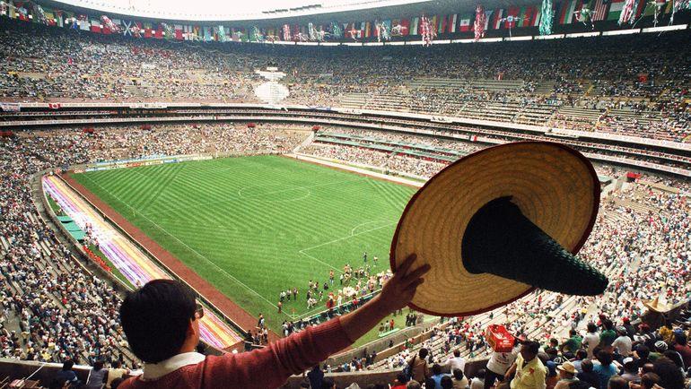 "Стадион ""Ацтека"". Фото AFP"