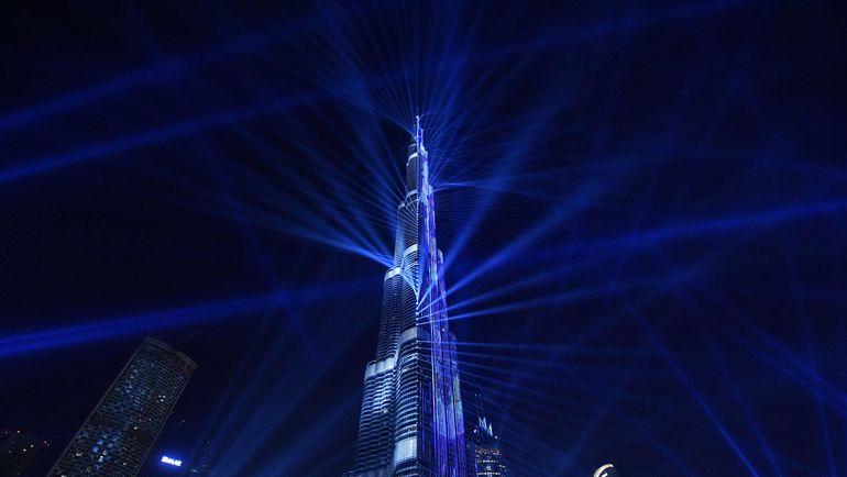 """Высочайшее здание мира - небоскреб """"Бурдж-Халифа"""" в Дубае. Фото AFP"""
