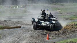 Украина – худшая в танковых соревнованиях. Россия и биатлон ни при чем