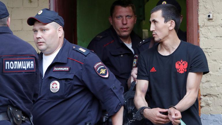 Таксист, въехавший в толпу в центре Москвы, арестован на два месяца. Фото REUTERS