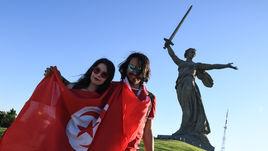 Англия, Тунис, Волгоград