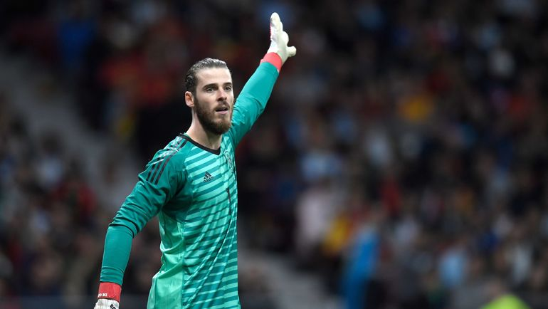 16 июня. Сочи. Португалия - Испания - 3:3. Давид ДЕ ХЕА. Фото AFP