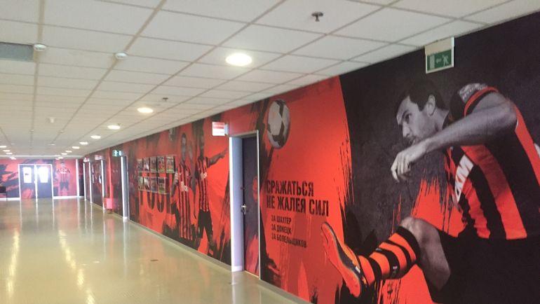 "Стадион ""Донбасс Арена"": под трибунами. Фото Дмитрий ЗЕЛЕНОВ, ""СЭ"""