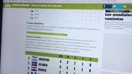 Аргентина сходит с ума перед игрой против Хорватии