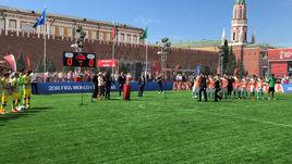 Касильяс открыл Парк футбола на Красной площади
