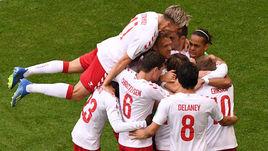 Дания забила и успокоилась