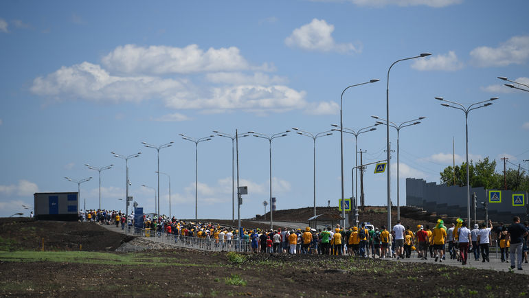 """Болельщики в Самаре. Фото Дарья ИСАЕВА, """"СЭ"""""""