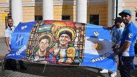Аргентина - Хорватия: что круче полоска или клетка?