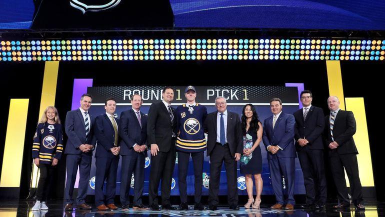 Расмус Далин - первый выбор драфта НХЛ. Фото NHL.com
