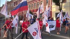В Самаре - марш в честь усов надежды
