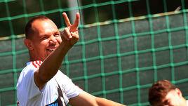 Победный жест Сергея Игнашевича